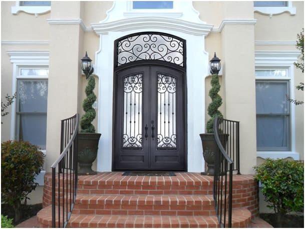 How To Restore Wrought Iron Door