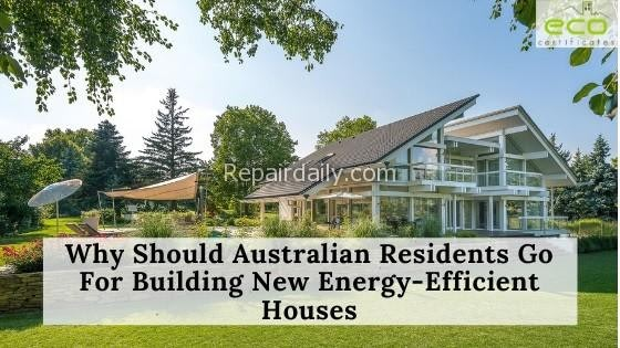 New Energy Efficient Houses