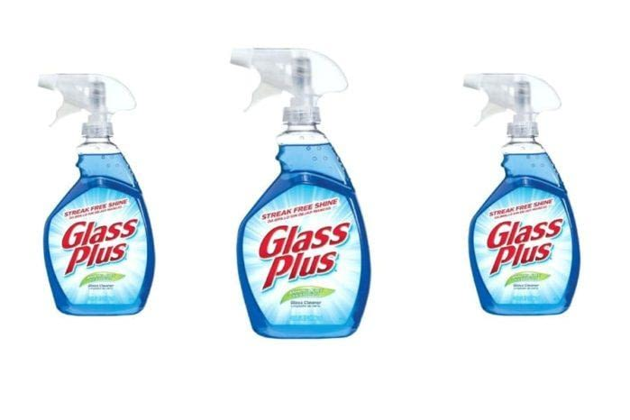 Glass plus Glass cleaner