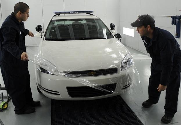 ceramic coating on car